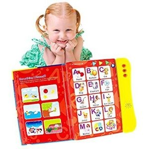 Amazon ABC Sound Book For Children / English Letters & Words Learning Book, Fun Educational Toy