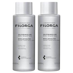 Filorga每罐仅€13!卸妆洁面润肤三效合一!卸妆洁面润肤三效合一!赋活卸妆精华液 2 x 200ml