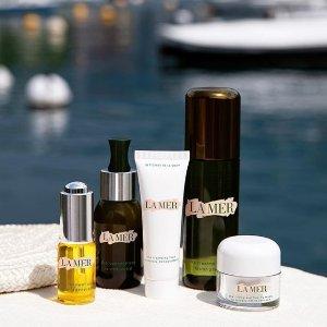送价值$85正装面霜+眼霜中样La Mer 美妆护肤品热卖,收超值套装