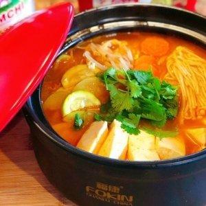 何必出去买那么贵的韩料在家几瓶酱就能搞定的韩国泡菜汤