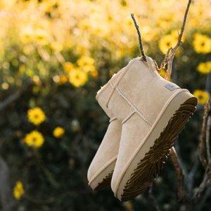 低至6折+额外8.5折UGG Outlet区冬日鞋靴折上折 反季雪地靴超值收