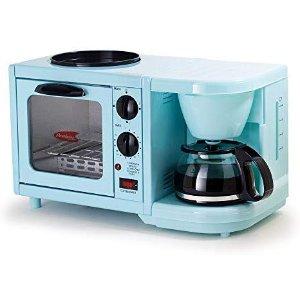 $35.17(原价$59.99)Elite Cuisine EBK-200B 3合1早餐神器