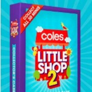 满$30送玩具 / $60送收集盒  收藏控必看!留言互换:Little Shop2.0 买超值好物 集仿真玩具