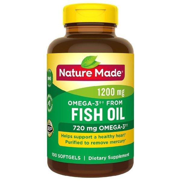 鱼油软胶囊 1200 mg