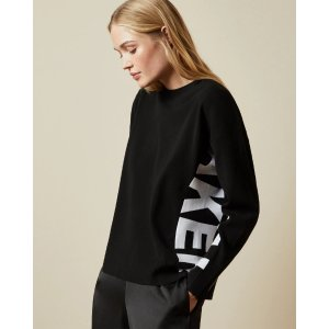 Ted BakerKEYZAY Branded logo sweater