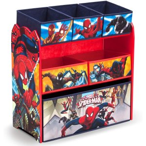 $37.97(原价$47.97)Delta Spider-Man 蜘蛛侠 儿童玩具收纳架 适合3-6岁儿童用