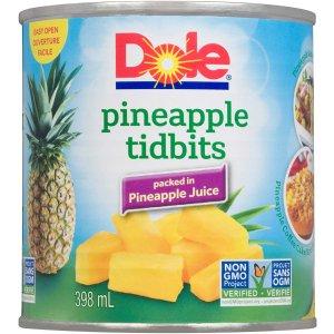 $1.97 (loblaws售价$2.39)Dole 都乐 菠萝水果罐头 酸酸甜甜好滋味 果肉杯$2