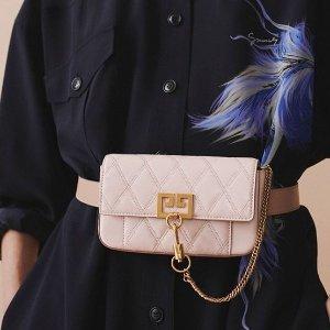 低至5折 $600+收新款复古链条包折扣升级:Givenchy专场 经典款半价收,黑金、大象灰GV3再降价