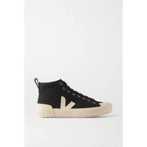 Veja相当于美金$93高帮帆布鞋