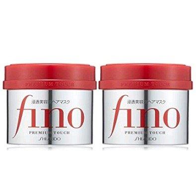 养发护发就靠它 资生堂 Fino 滋养修护发膜 230g*2罐 特价