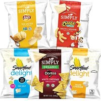 Lay's Simply 有机小零食组合 36 Count