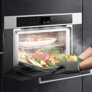 独家:ROBAM CQ762S 老板多功能嵌入式蒸烤一体机