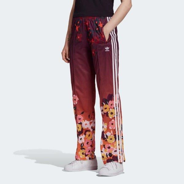 花卉运动裤
