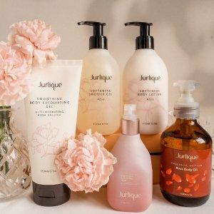 无门槛7折 比澳洲买便宜得多Jurlique 南澳天然护肤 入玫瑰护手霜、平衡花卉水