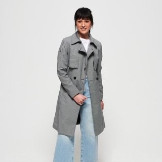 Superdry Sirena Trench Coat on Sale