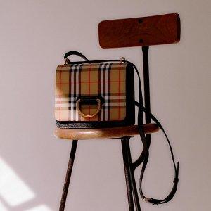 低至3.8折+至高额外减$50独家:Burberry 精选美包、围巾等热卖