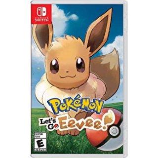 $29.99 (原价$59.99)《精灵宝可梦 Let's Go 伊布!》Switch 实体版
