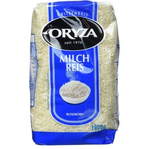 仅需€1.52 Edeka同款€2.98Oryza 圆粒牛奶米1公斤装 免去超市搬运烦恼 QQ弹弹超好吃