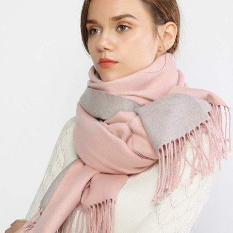 低至4.4折 厚厚的裹住可爱的自己Amazon 精选保暖围巾、披肩 折扣热促 该做好准备过冬咯