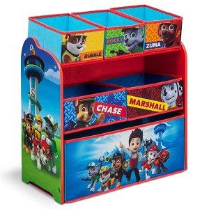 $31.97(原价$57.09)Nick Jr. Delta 儿童玩具收纳箱