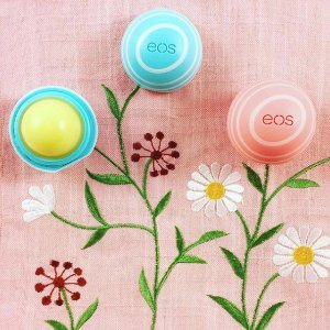 $2EOS Visibly Soft Lip Balm Sphere, Vanilla Mint, 0.25 Ounce