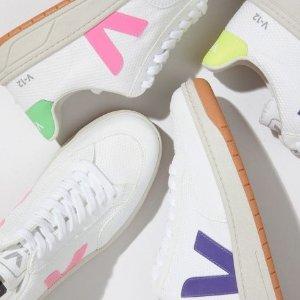 一律8折 £72收Veja经典小白鞋Allsole 新品美鞋秘密闪促 收春夏必备老爹鞋、小白鞋等