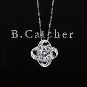 $18.99 (原价$32.79)B.Catcher 925纯银吊坠项链  精致小礼