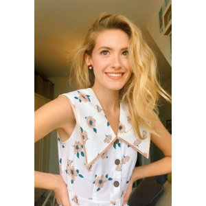 miss patinaEliana Floral Top