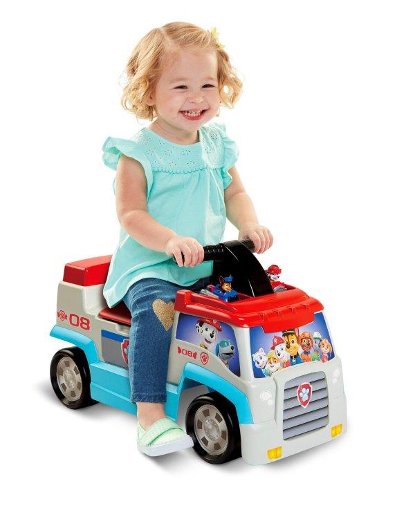 汪汪队 幼童骑行小车,带迷你车玩具