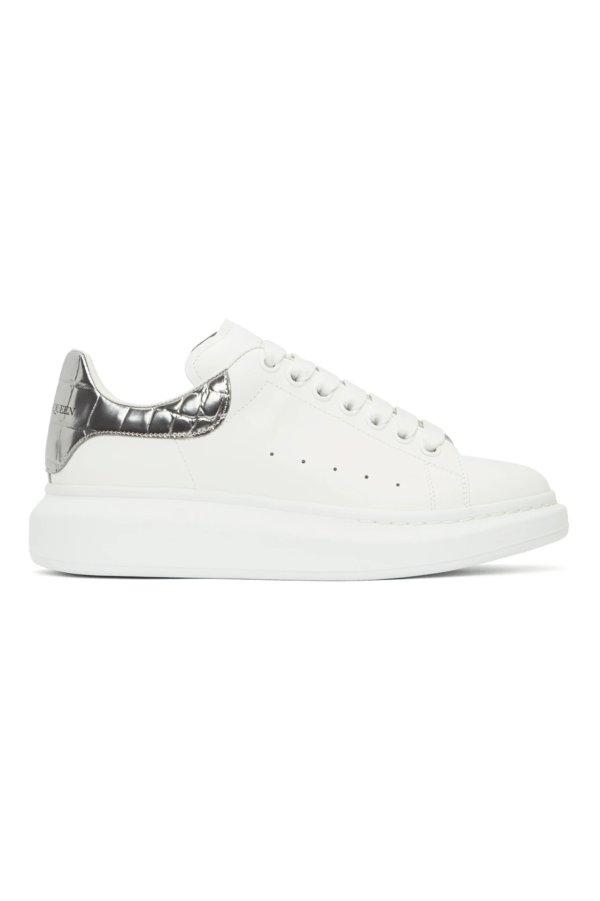 男士银尾小白鞋