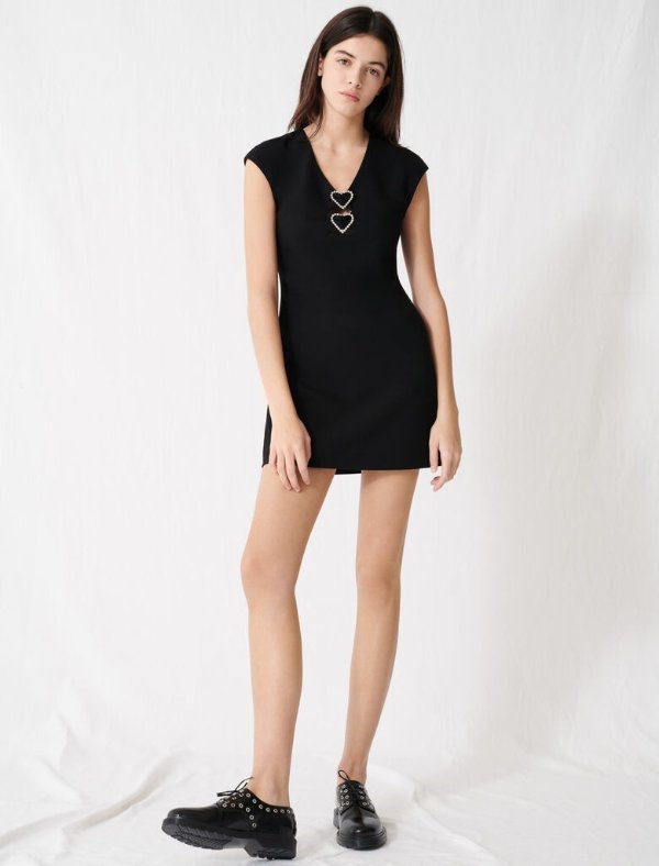 爱心小黑裙