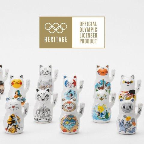 售价$4200 限量发行2020套WAGTI 推出最新2020奥运收藏 招财猫东京限量套组