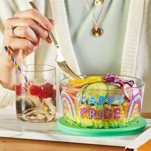 CorelleHappy Pride 4-cup 带盖玻璃保鲜碗