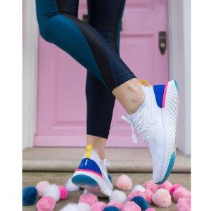 $150+免邮 Nike 2018年度巨作上新:Nike 最新 Epic React Flyknit跑鞋发售,跑鞋突破性革命性创举,新色加入