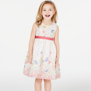 4折+低门槛包邮最后一天:macys 精选女童节日款裙子热卖 复活节就要甜美可爱滴