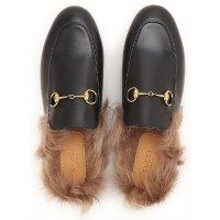 Gucci 毛毛拖鞋
