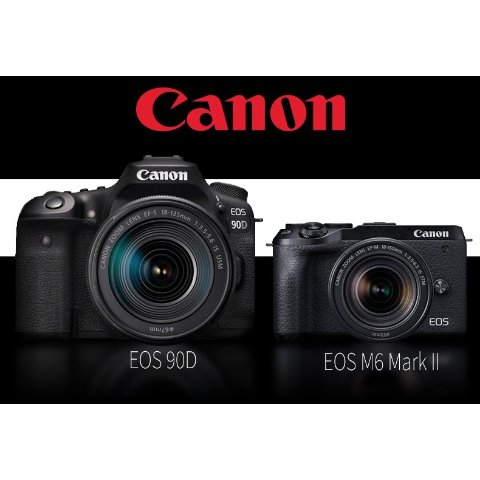 32.5MP APS-C CMOSCanon Releases the EOS 90D and M6 Mark II