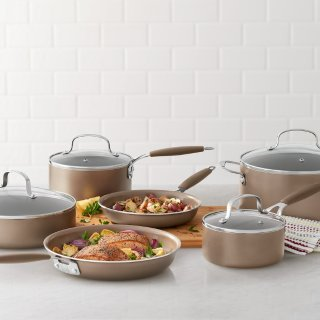 $76.49Food Network 10-pc. Ceramic Cookware Set