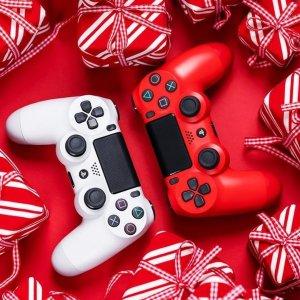 无门槛6.7折 和舍友一起玩PlayStation4 开学季全场大促 多款手柄可选 大型游戏爱好者必备