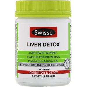 SwisseSwisse, Ultiboost, Liver Detox, 180 Tablets