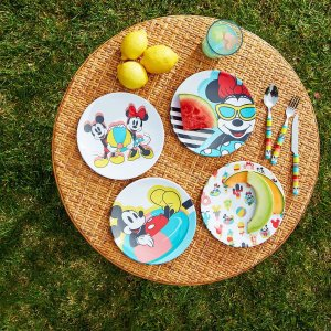 Disney15% off $50, 20% off $75, $25 off $100Mickey and Minnie Mouse Plate Set - Disney Eats