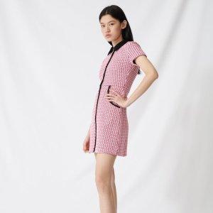 低至2折+免邮闪购:maje 连衣裙半裙大促 $155.8收小香风连衣裙