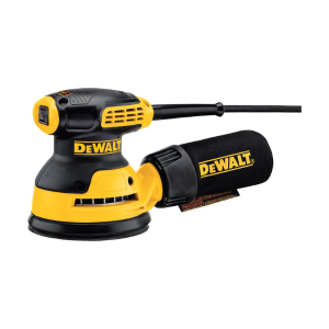 $29.99DeWalt Corded Random Orbit Sander 3 amps 12000 opm Yellow 5 in.