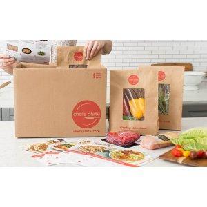 含两道菜 diy 趣味十足 需使用折扣码 dealmoon15chefs plate 菜品订阅盒子