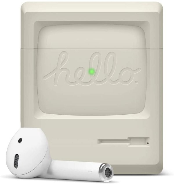 elago 经典Apple初代麦金塔造型 AirPods 保护壳