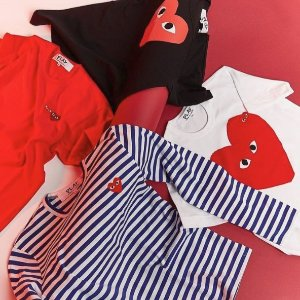 Dealmoon Singles Day exclusive!30% of Comme des Garçons PLAY @ LOIT