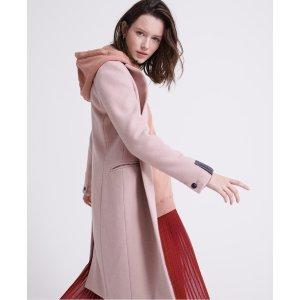 Superdry羊毛大衣