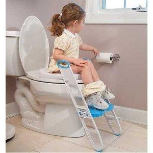 $34.63(原价$41)Mommy's Helper 带阶梯的宝宝马桶垫 训练独立上厕所好帮手