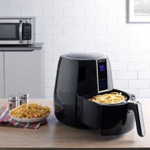 $39 Farberware 3.2-Quart Digital Oil-Less Fryer, Black @ Walmart