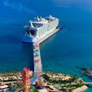 5天巴哈马行程 迈阿密往返 停靠拿骚+大马镫礁岛